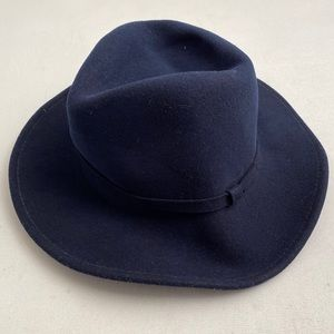 Bailey navy LiteFelt wool NWT fedora hat